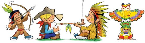 Afbeeldingsresultaat voor cowboys en indianen